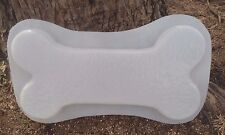 """heavy duty 3/16"""" poly plastic mould set 1 dog bone bench top and 1 leg mold"""