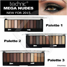 Technic Matte Eye Shadows Palettes