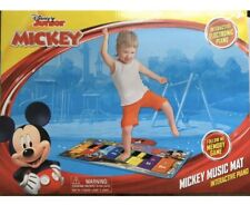 Disney Mickey Mouse Music Mat Interactive Floor Piano Electronic Toy Keyboard!!!