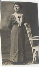 Portrait Femme Histoire sociale France Photographie Vintage Argentique PL34L1A4