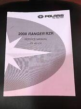 Polaris 2008 Ranger RZR Service Manual