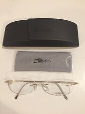 Silhouette Titan Dynamics #7719 Eyeglass Frame-Authentic-NEW-Matte Gold-17/135
