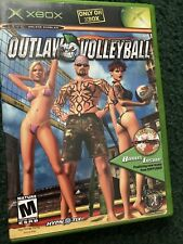 Outlaw Volleyball (Microsoft Xbox, 2003) With Diffuser Music CD