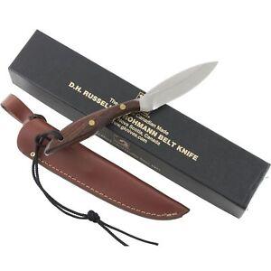 Grohmann D.H. Russell Original Canadian Belt Knife GR1 Rosewood Sheath