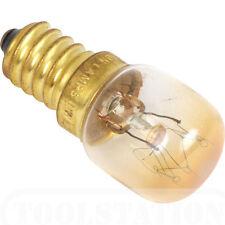 Crompton 25w Horno Lámpara Transparente Rosca Edison Pequeña 300 Grados