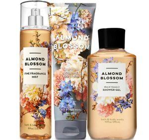 BATH & BODY WORKS Almond Blossom Trio Set