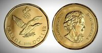 Canada 2006 Olympic Lucky Loonie BU UNC From Mint Roll!!