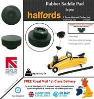 Rubber Pad for Halfords 2 Tonne Trolley Jack - Short Wheel Base ref: 332236