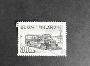 Finland stamp 1947 30mk. Post travel coach. VGU.