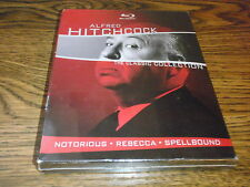 ALFRED HITCHCOCK THE CLASSIC COLLECTION BLU RAY BOX SET NEW SEALED