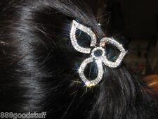 1 Brand New Gorgeous Hair Clip Claw w Shinny Swarovski Crystals Hair Accessories