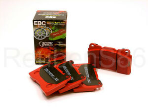 EBC REDSTUFF CERAMIC PERFORMANCE BRAKE PADS - FRONT DP31655C