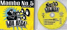 Lou Bega-MAMBO NO. 5-CD MAXI-Extended Mix