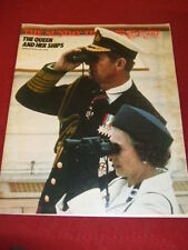 SUNDAY TIMES MAGAZINE - THE QUEEN AND HER SHIPS - JULY 10 1977