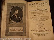 1767 1st ed History Queen Maria Theresa Habsburg Austria Hungary Croatia Bohemia