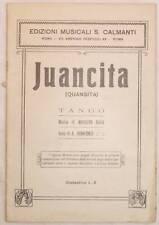 MODESTO RASA INNOCENZI JUANCITA QUANSITA TANGO ANNI '30