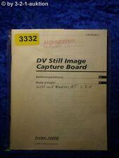 Sony Bedienungsanleitung DVBK 2000E DV Still Image Capture Board (#3332)
