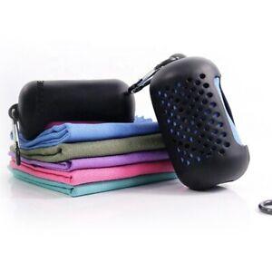 Microfiber Sports Towel - Super Absorbent, Ultra Soft, Lightweight, Fast Dry
