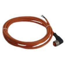 RALCM12-5M Cavo in PVC (80° max.) connettore M12 a 90° Lunghezza 5 metri Cavo di