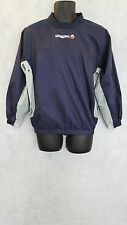 Mens Uhlsport Training Windbreaker Top Brand New Navy/Grey Size Small  #W800