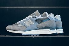 NEW BALANCE 998 USA EXPLORE BY AIR COOL GREY/HEATHER BLUE M998CPLO SIZE 11.5