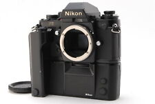 """ Near Mint "" Nikon F3 Eye Level SLR Film Camera Body w/ MD-4 from Japan #223"
