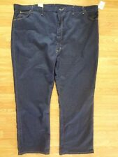 Men's Wrangler Rugged Wear Stretch Jeans Classic Fit 58x32 New