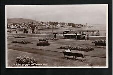 The Gardens & East Bay Dunoon Argyllshire 1930's? RP Postcard ~ GOOD QUALITY