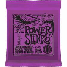 3 Sets of Ernie Ball Power Slinky 2220 Electric Guitar Strings UK
