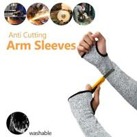 Safety Arm Protector Glove Anti Cutting Braces Guard Puncture Proof Sports