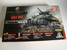 Italeri World of Tanks M4 Sherman Nr.36503 (ohne Codes)