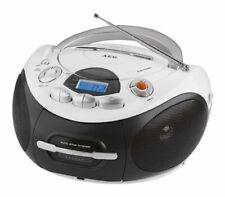 CD Spieler Stereoanlage AEG SR 4353 MP3 CD Kassetten Radio  Ghettoblaster Weiss