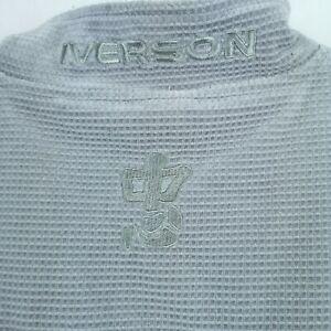 Reebok Allen Iverson I3 Fleece Jacket NBA Gray Size LG Rare Limited  Edition