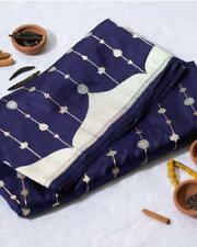 Banarasi Silk Saree Ethnic Designer Pakistani Traditional Indian Wedding Wear VV