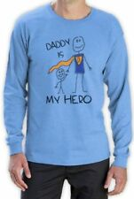 Super Hero Long Sleeve Regular Size T-Shirts for Men