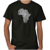 Africa DNA Map Black Pride History Melanated Womens or Mens Crewneck T Shirt Tee