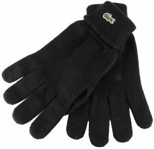 Lacoste Mens Knitted Gloves - Black