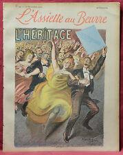 Assiette au Beurre N˚33  16 Novembre 1901 L'Heritage par Heidbrinck