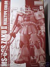 Bandai Gundam MG 1/100 Scale MS 06S ZAKU II Ver2.0 REAL TYPE COLOR Model Kit