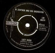 SI ZENTNER Lazy River Vinyl Record 7 Inch Liberty LIB 55374 1962