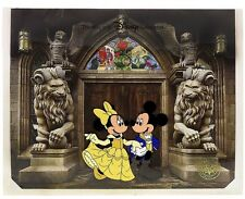 Magic of Disney Animation Mickey And Minnie Beauty And The Beast Animation Cel