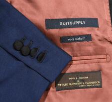 38L Suitsupply Vitale Barberis Dark Blue Shawl lapel 2 PIECE TUXEDO SUIT