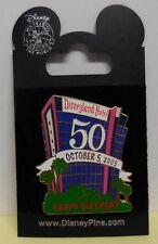 Disney Pin DLR Cast Member Disneyland Hotel 50 Years Pin