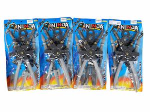Kids Ninja Sword Toy Weapons Set Plastic Power Turtle Fancy Dress Accessory