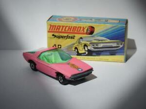 MATCHBOX LESNEY SUPERFAST VAUXHALL PINK GUILDSMAN 1 No.40 MINT H2 BOX 1971-74
