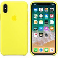 Flash  GENUINE ORIGINAL Apple Silicone Case NEW iPhone X RRP $39