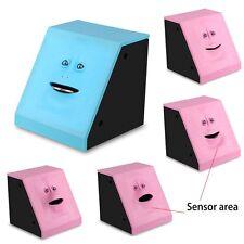 2016 Facebank Face Bank Sensor Coin Eating Saving Money Box Christmas Kids Gift