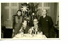 Pretty Christmas Tree-Decorations Inside Home-RPPC-Real Photo Vintage Postcard