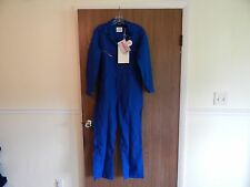 Mens Light Nomex ToppMaster Flame Retardant Suit, Size 36 S, Blue, New w/tags