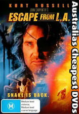 Escape From L.A. DVD NEW, FREE POSTAGE WITHIN AUSTRALIA REGION 4